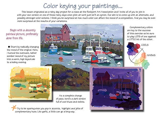 Keying Your Color