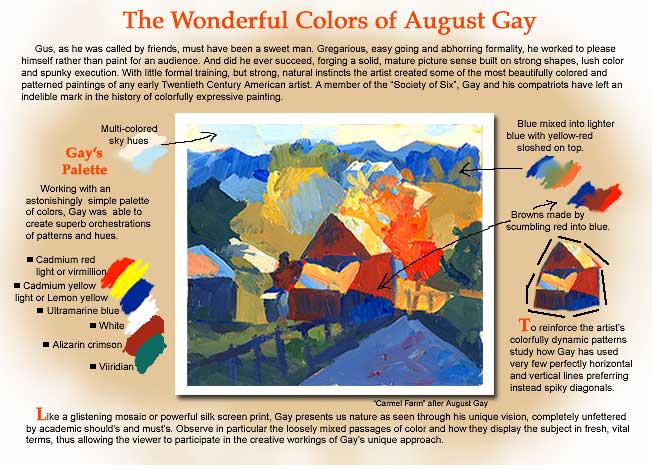August Gay lesson...